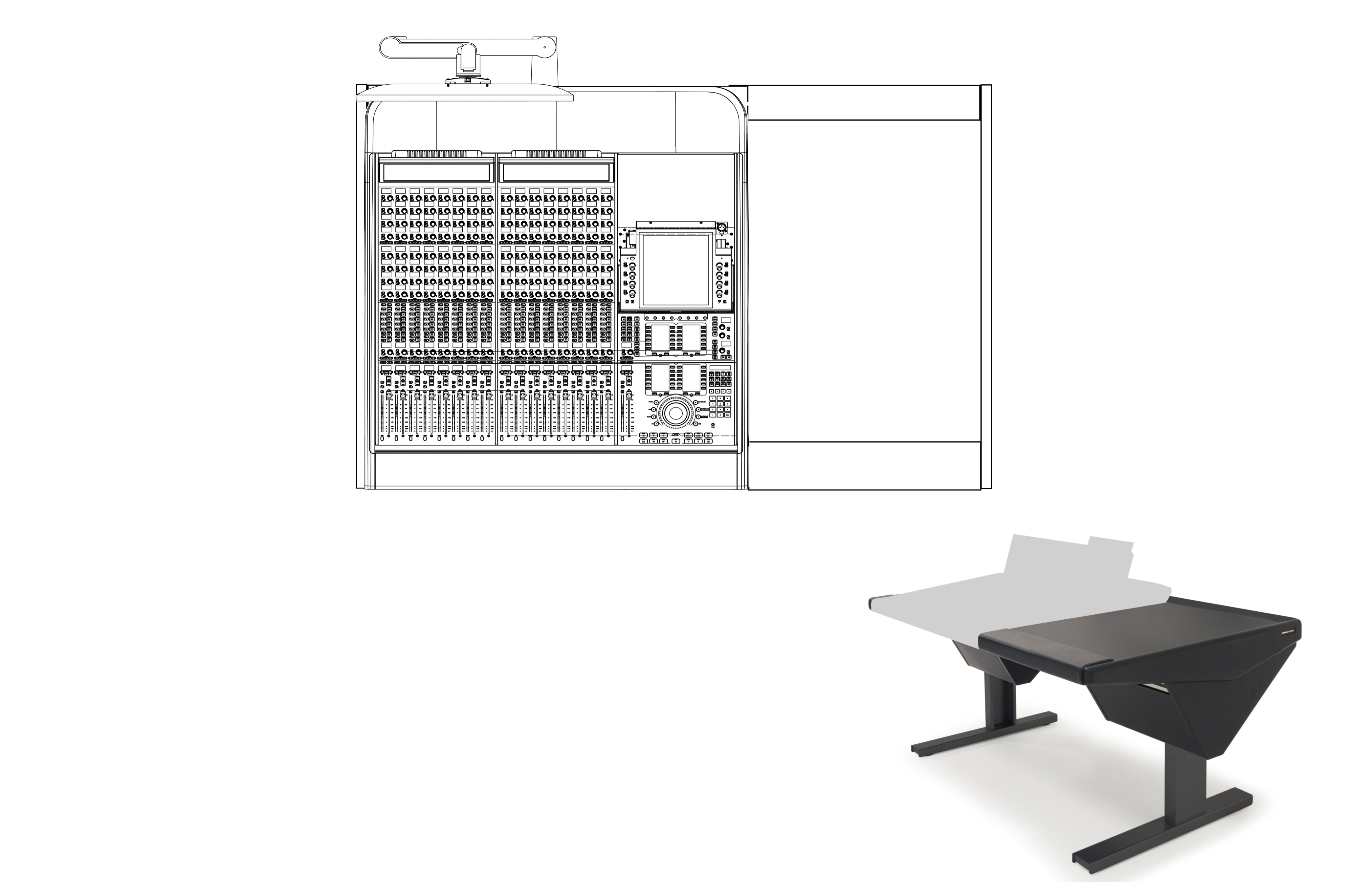 16 Fader System with Desk (R)