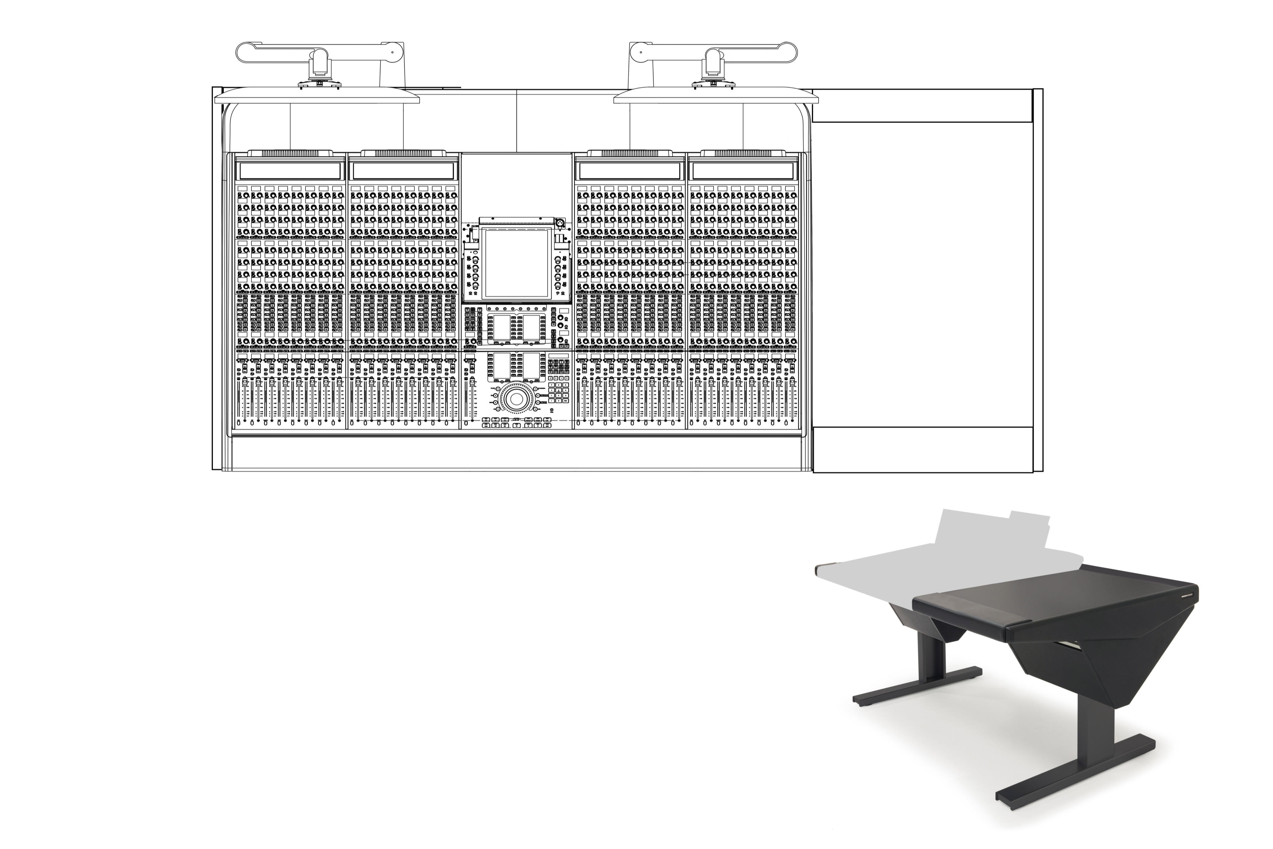 32 Fader System with Desk (R)