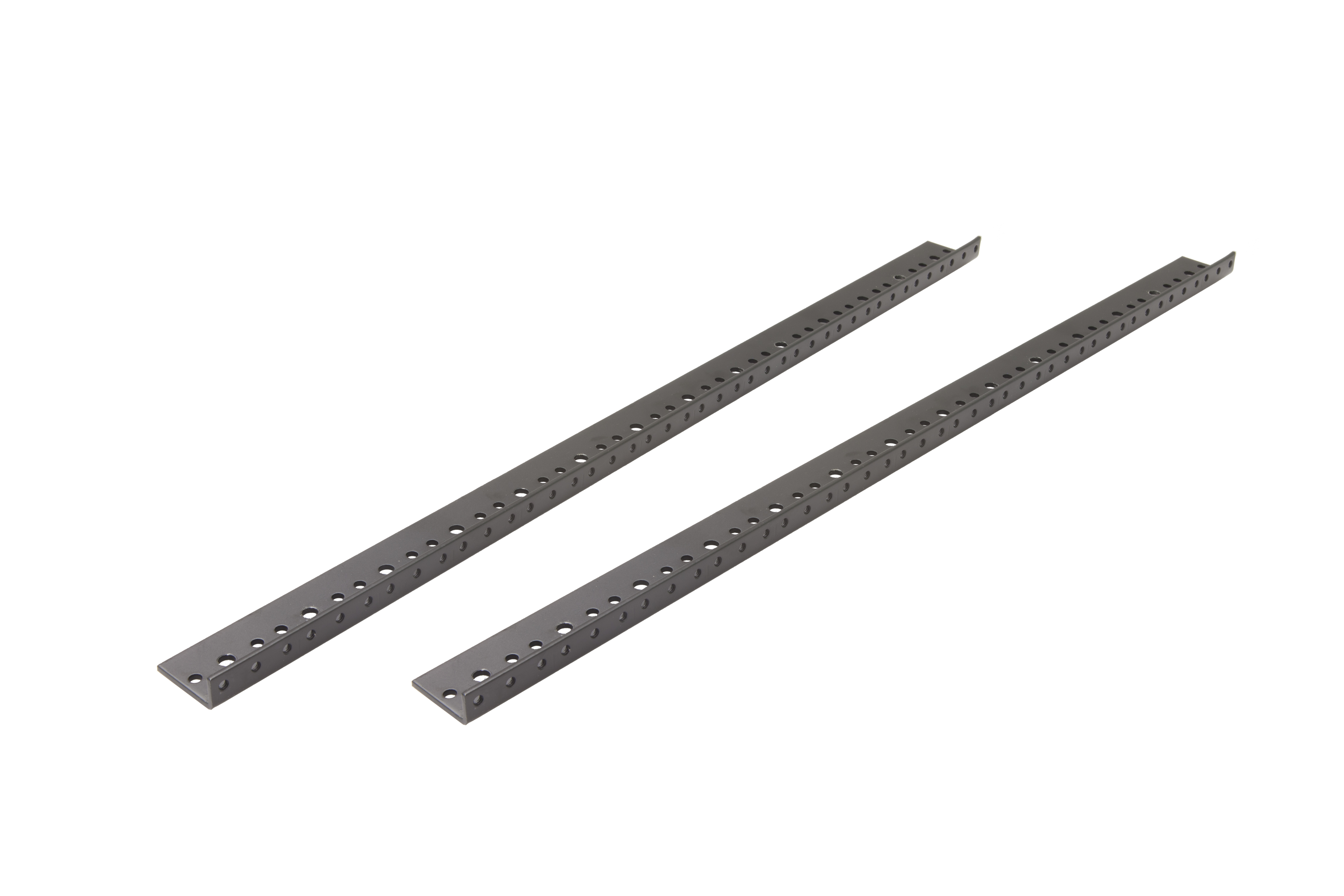 1 pair 14 space Rack Rail w/mounting screws