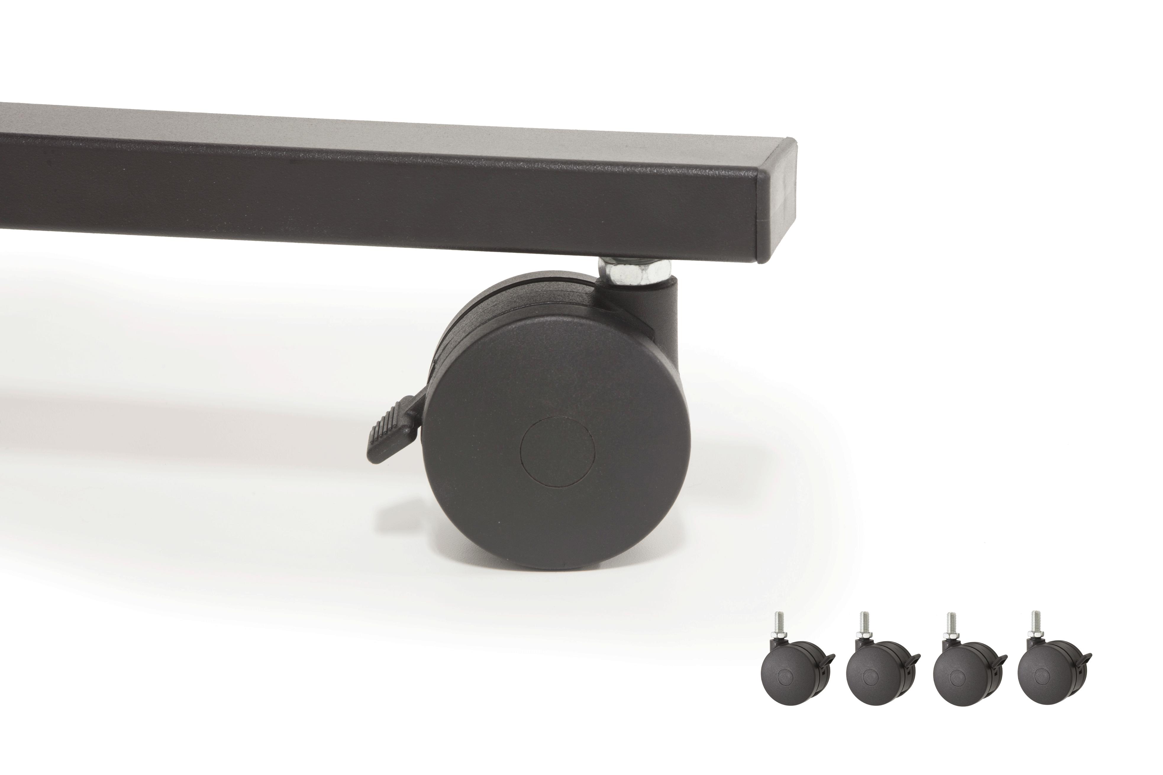Caster Kit for Dual15 Workstation