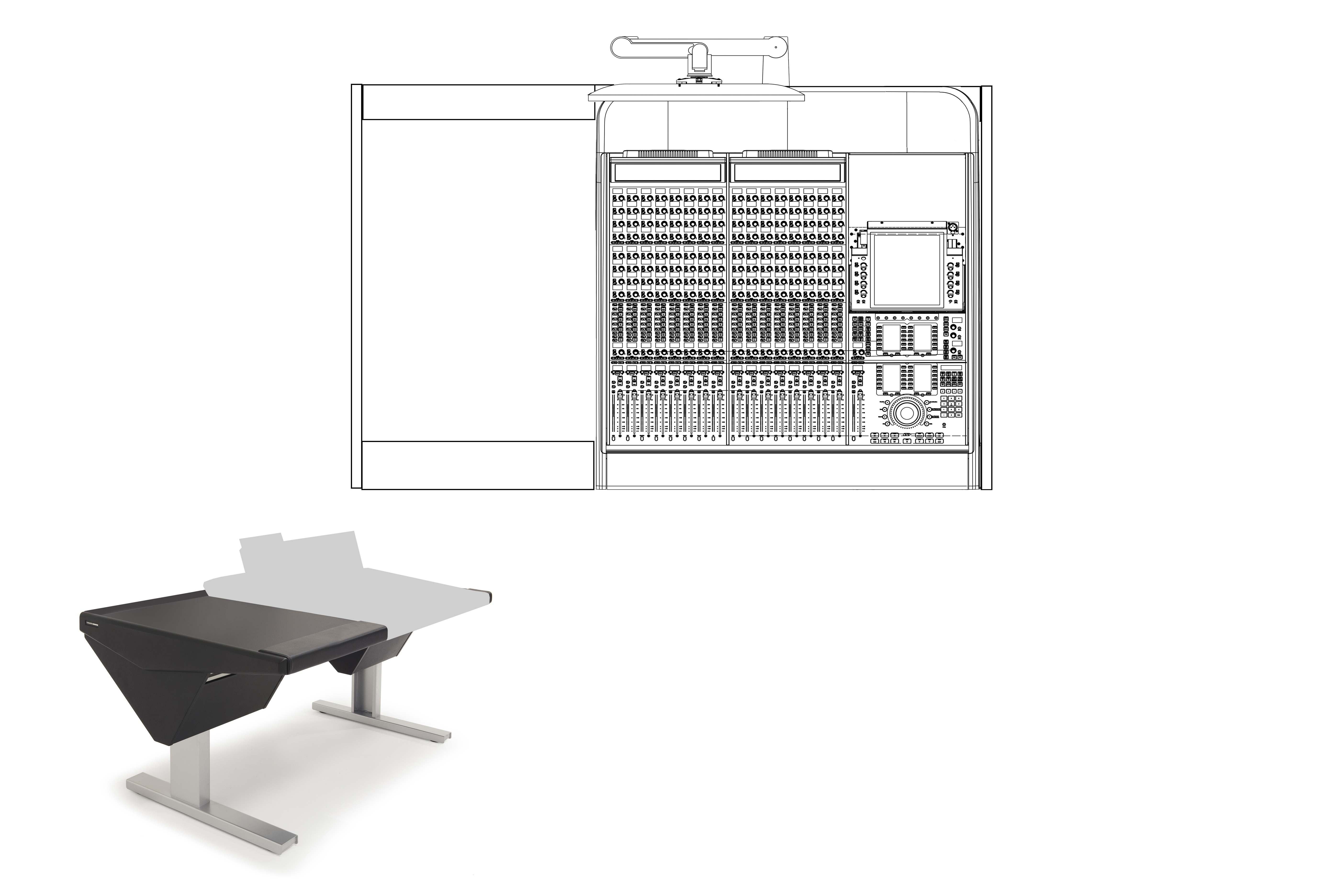16 Fader System with Desk (L)