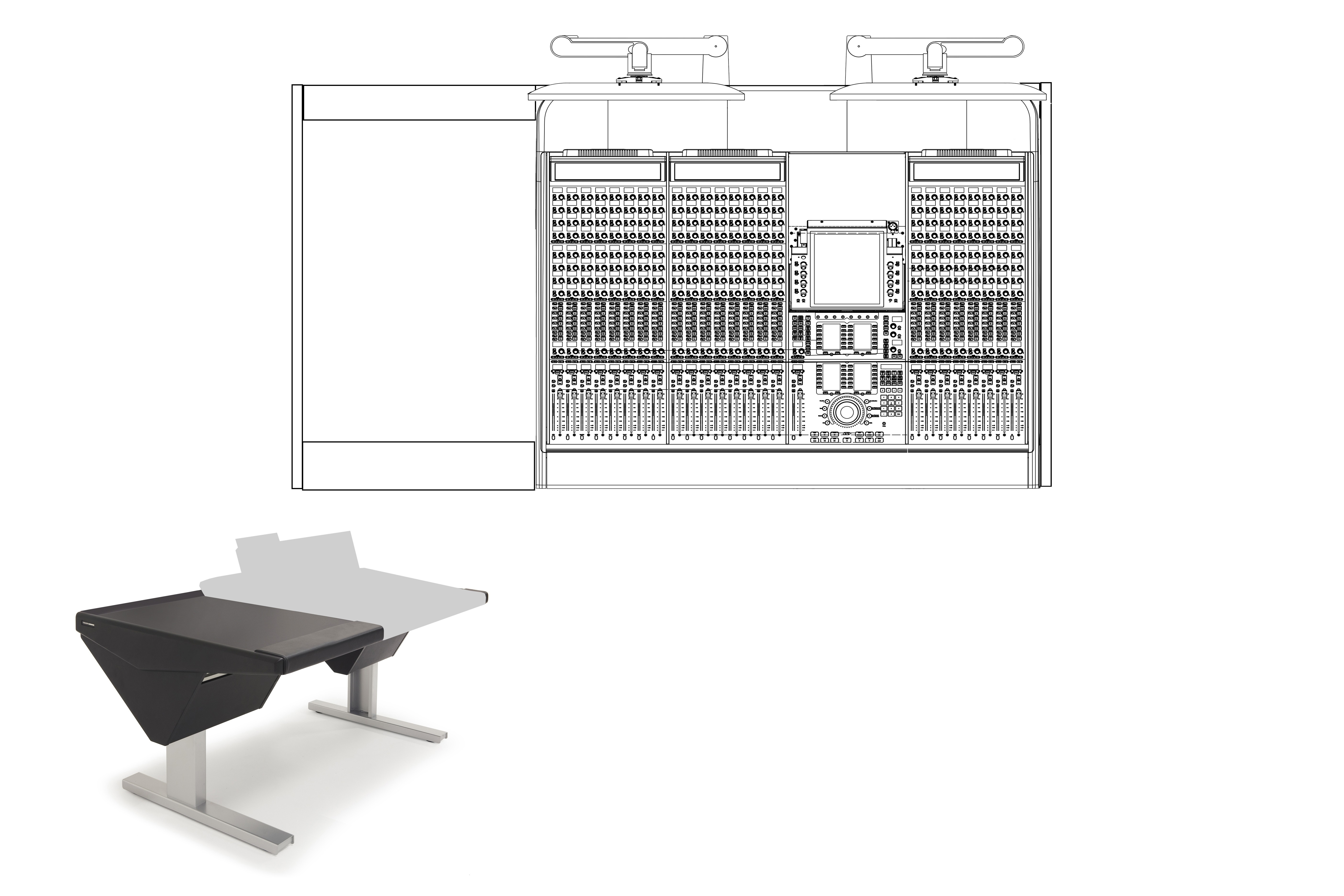 24 Fader System with Desk (L)