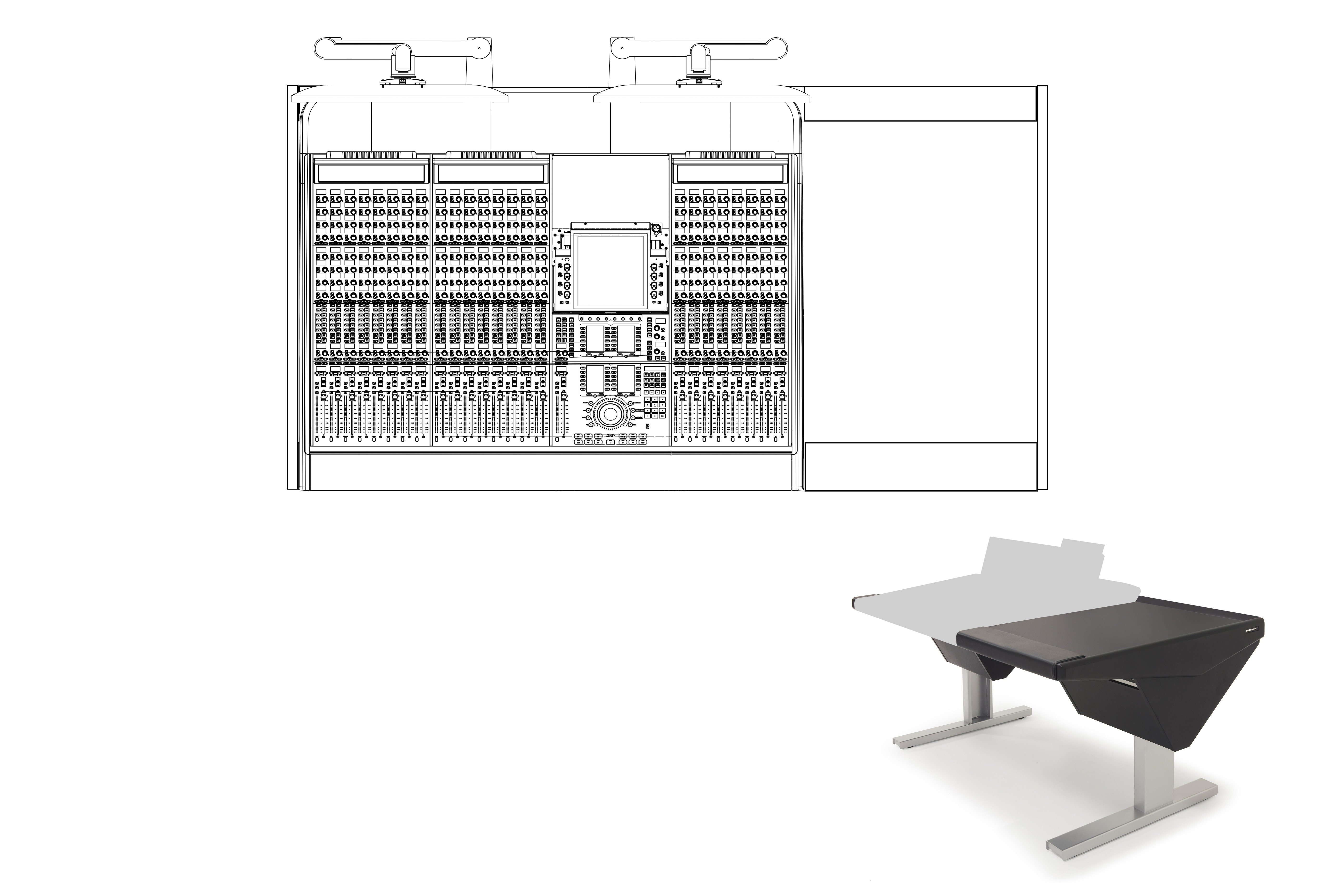 24 Fader System with Desk (R)