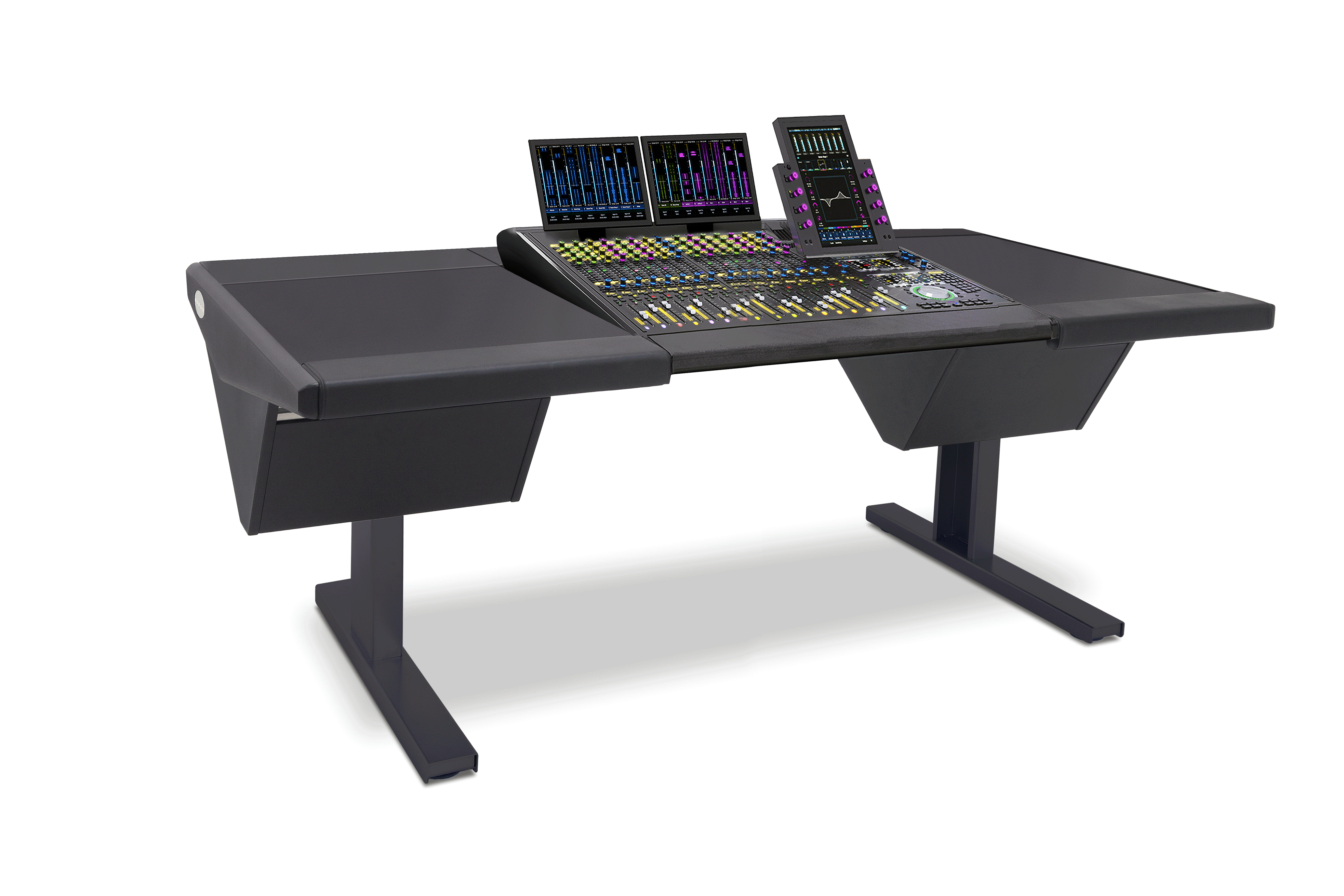 16 Fader System with Desk (L) and Desk (R)