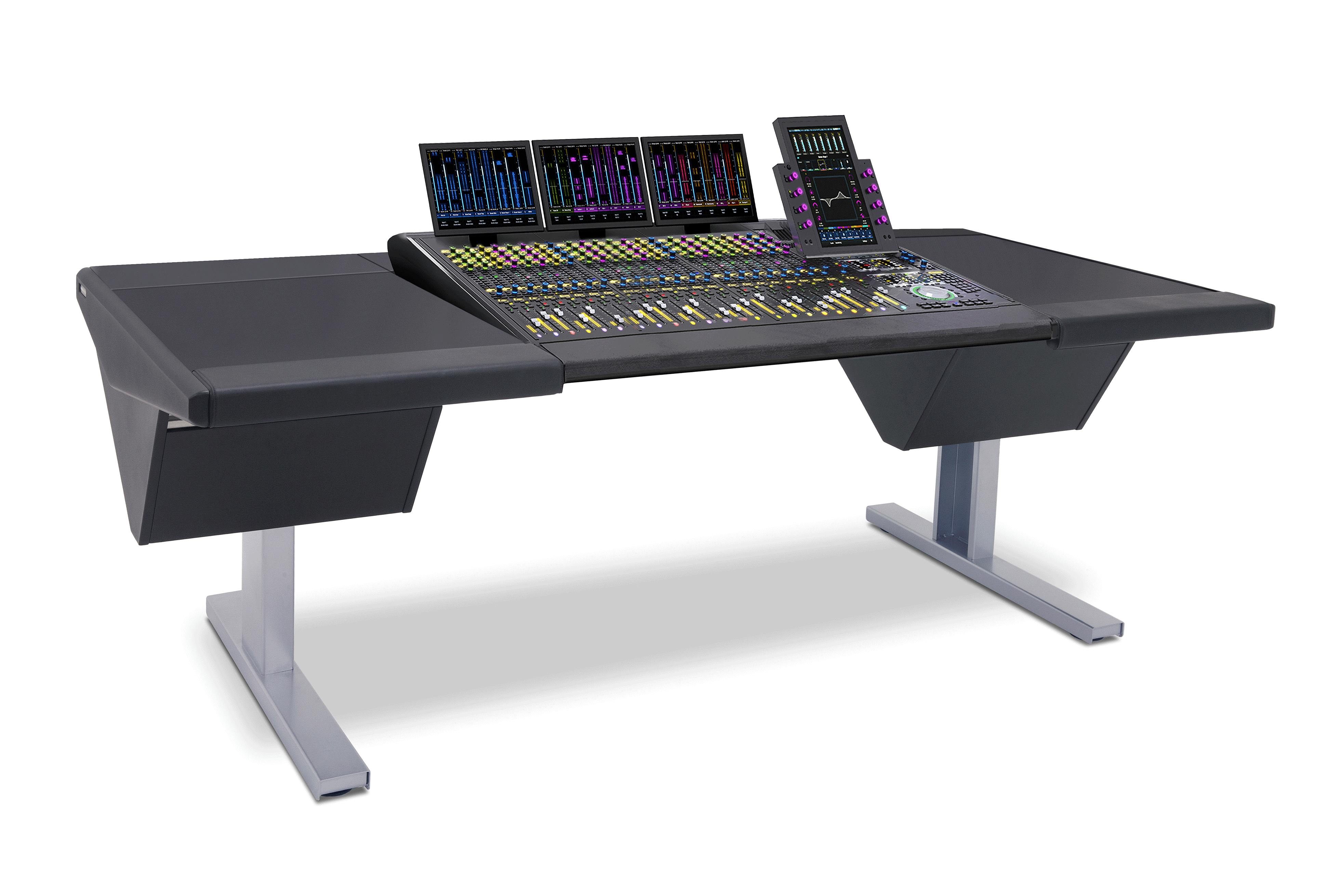24 Fader System with Desk (L) and Desk (R)