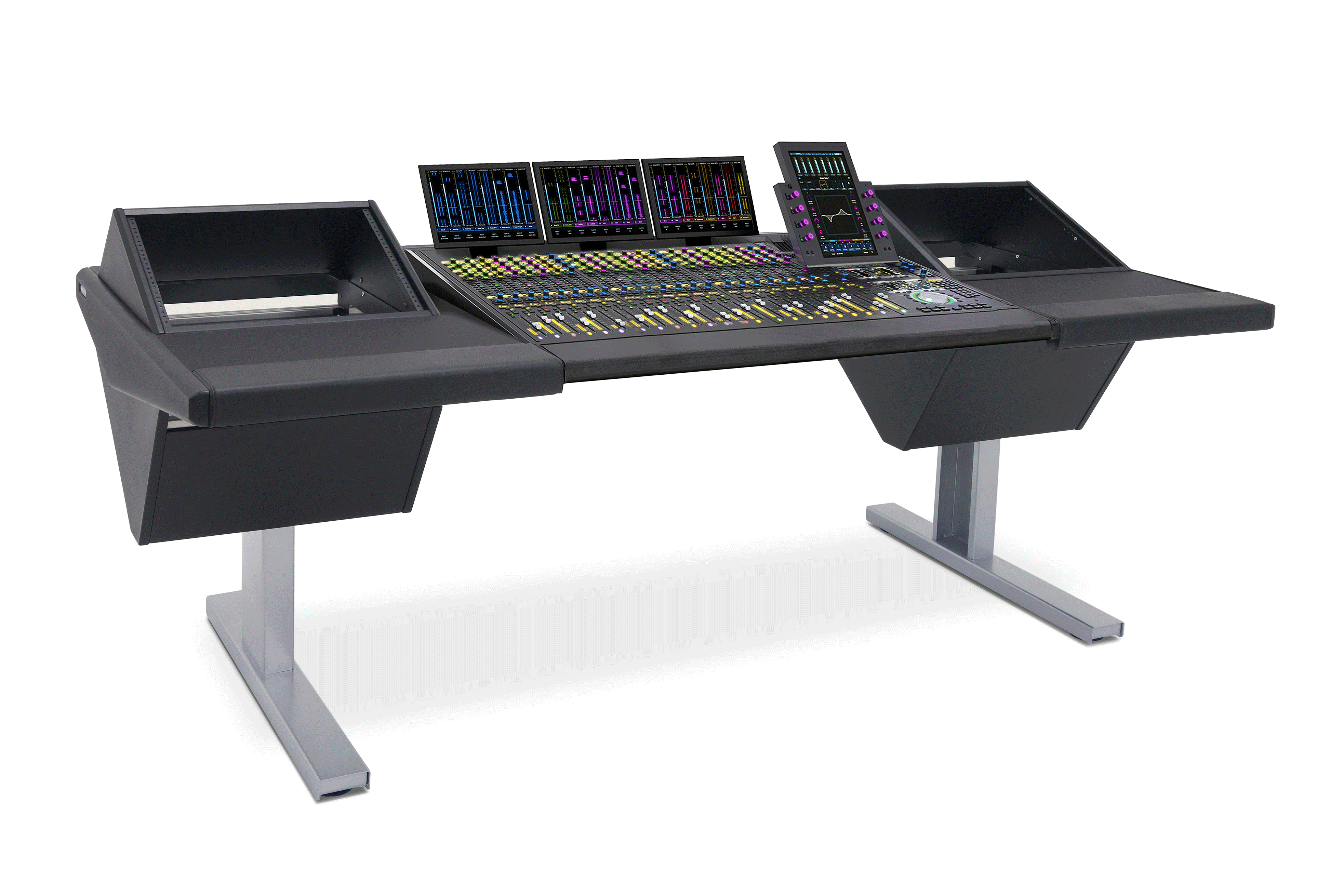 24 Fader System with Rack (L) and Rack (R)