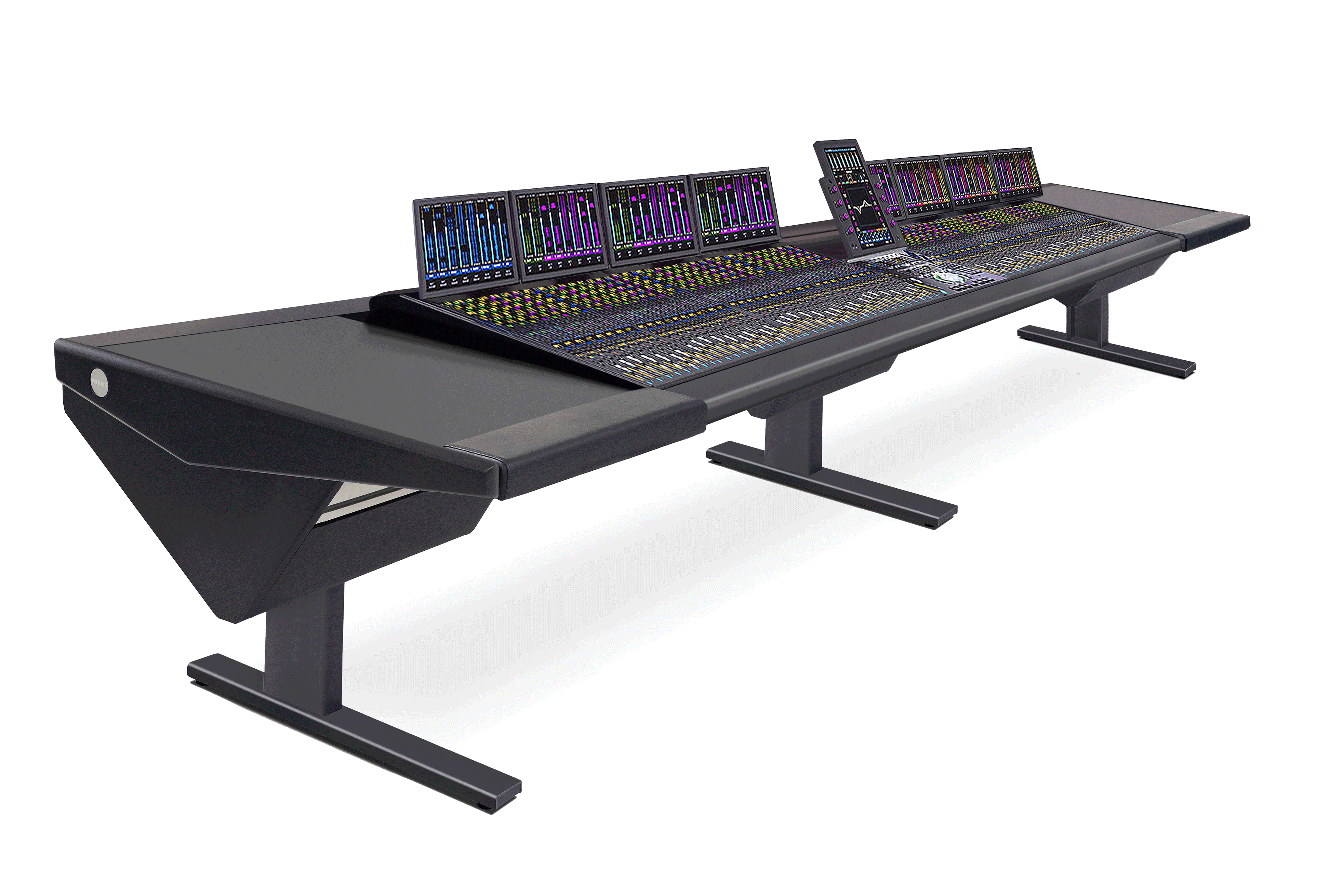 64 Fader System with Desk (L) and Desk (R)