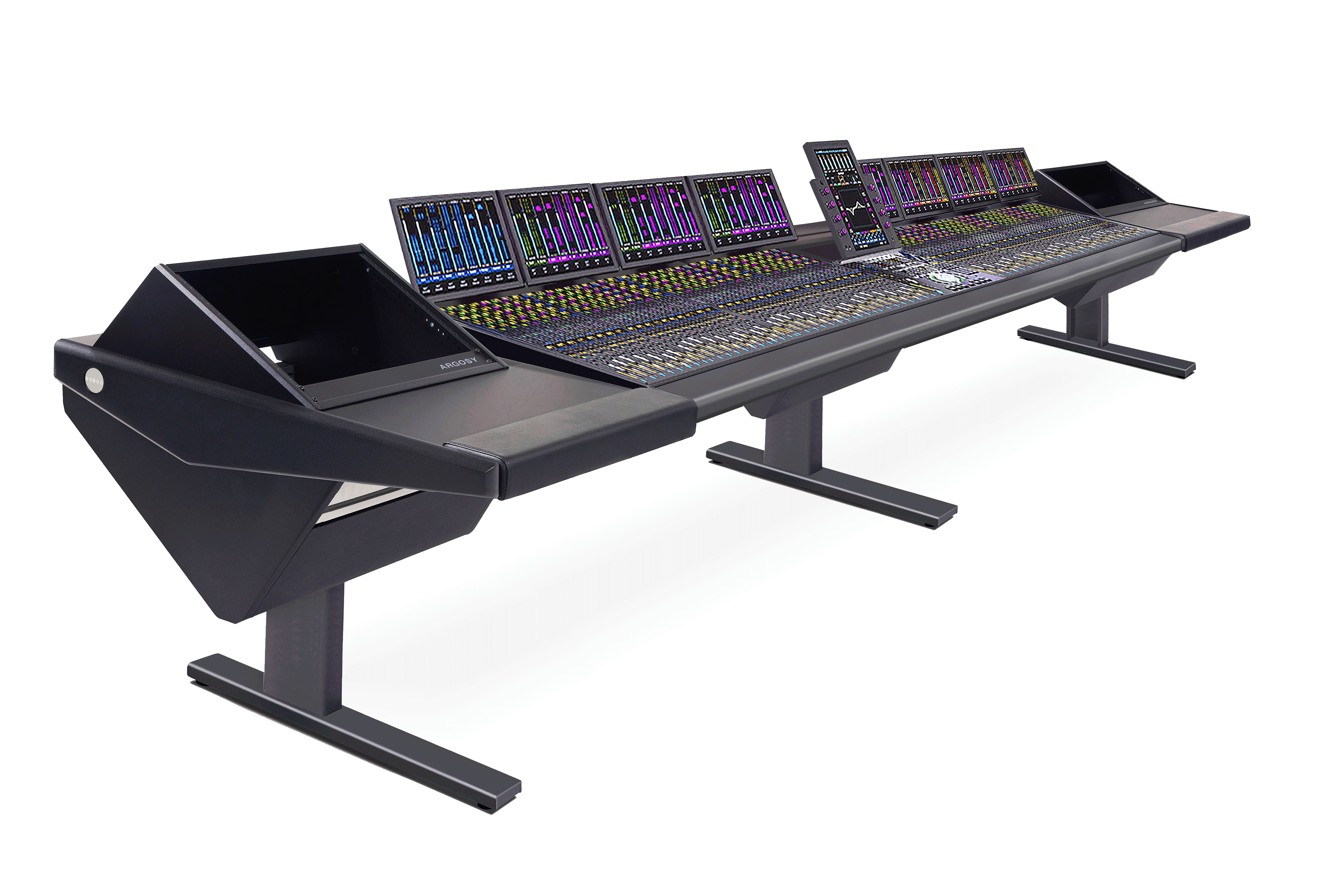 64 Fader System with Rack (L) and Rack (R)