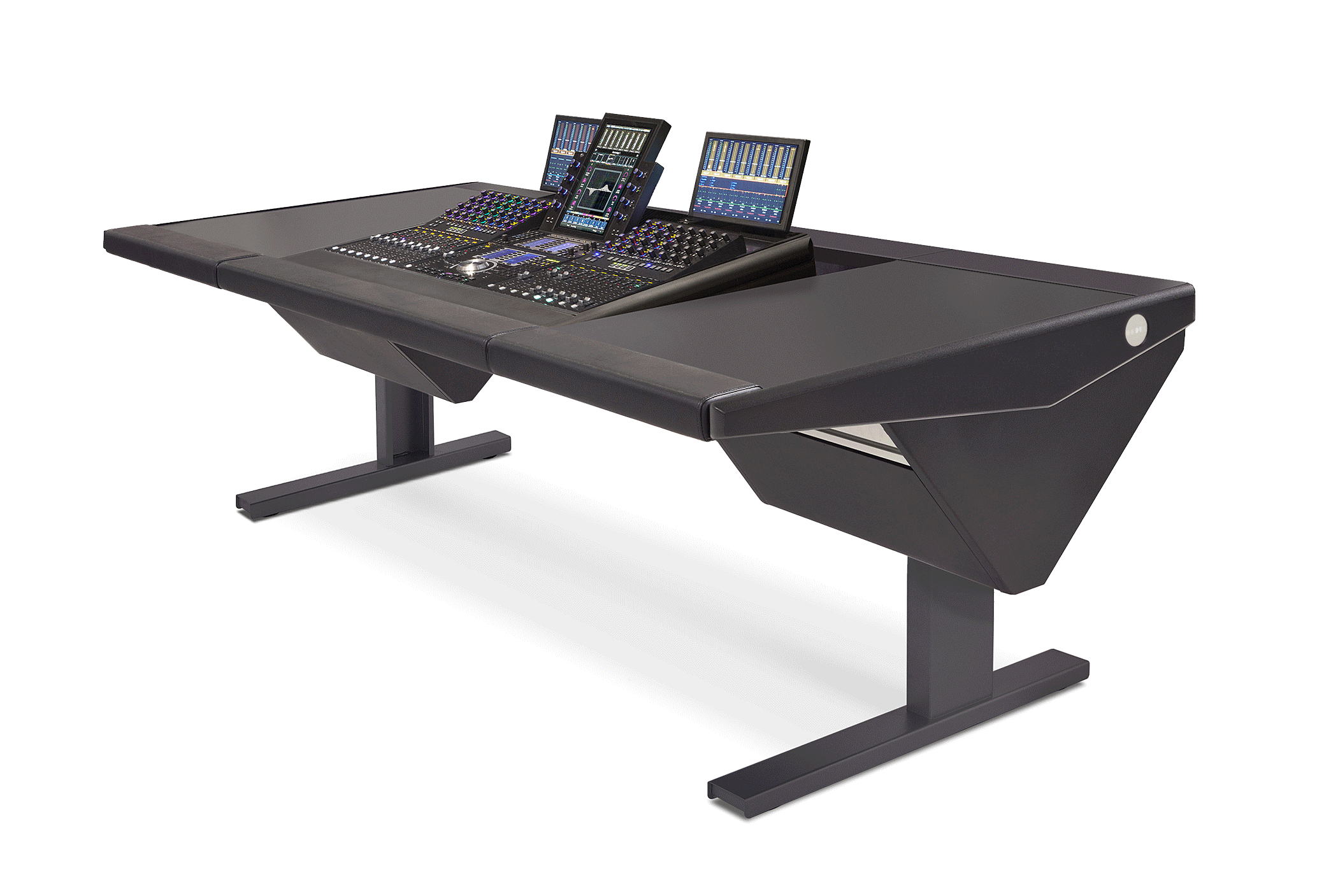 S4 - 3 Foot Wide Base System with Desk (L) and Desk (R)